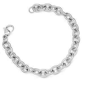 Stainless Steel Linking Bracelet for Charms
