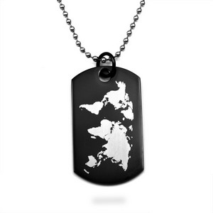 Wherever You May Wander Personalized Dog Tags