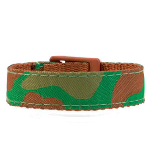 Camouflage Strap for Slide On ID Tags SM Fits 4 - 6 Inch