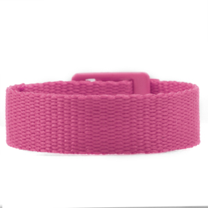 Pink Strap for Slide On ID Tags SM Fits 4 - 6 Inch