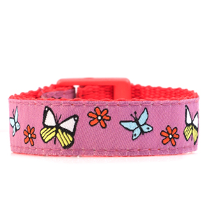 Butterfly Strap for Slide On ID Tags SM Fits 4 - 6 Inch
