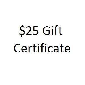 Thoughtful Impressions Twenty Five Dollar Gift Certificate