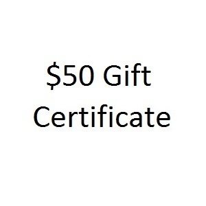 Thoughtful Impressions Fifty Dollar Gift Certificate
