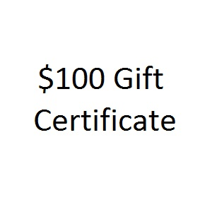 Thoughtful Impressions One Hundred Dollar Gift Certificate