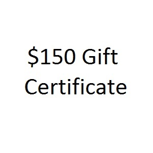 Thoughtful One Hundred Fifty Dollar Gift Certificate